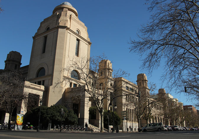 Rectorate of the University of Valencia.