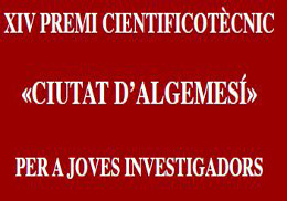 "XIV scientific and technical contest ""Ciudad de Algemesí"" for young researchers"