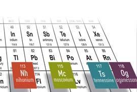 Los cuatro nuevos elementos de la tabla peridica ya tienen nombre cuando en diciembre se aadieron cuatro nuevos elementos a la tabla peridica se les dio un nombre provisional a la espera de los oficiales urtaz Image collections