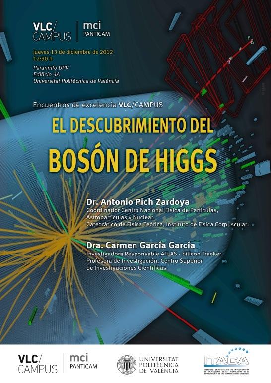 Resultado de imagen de Descubrimiento del Bosón de Higgs