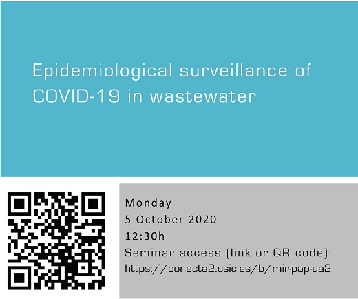 Epidemiological surveillance of COVID-19 in wastewater