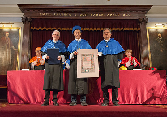 Honorary doctorate von Heijne appointment ceremony