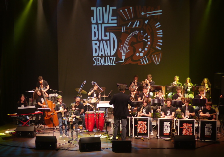 La Jove Big band Sedajazz a La Mutant.