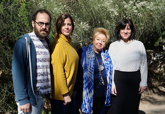 Eva Barreno's team