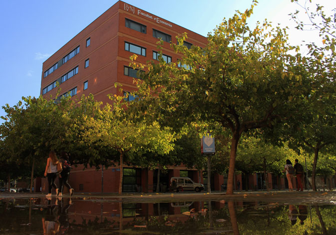 Faculthy of Economics of the University of Valencia.