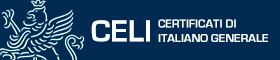 This opens a new window CELI Certificati di italiano generale