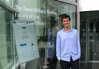 Pablo Quinzá spends a stay at the Cambridge University
