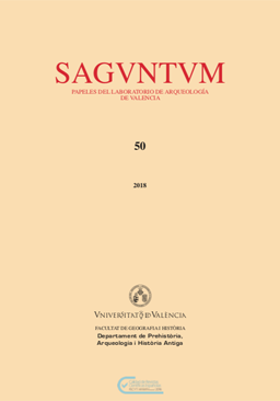 Image of the cover of Saguntum 50