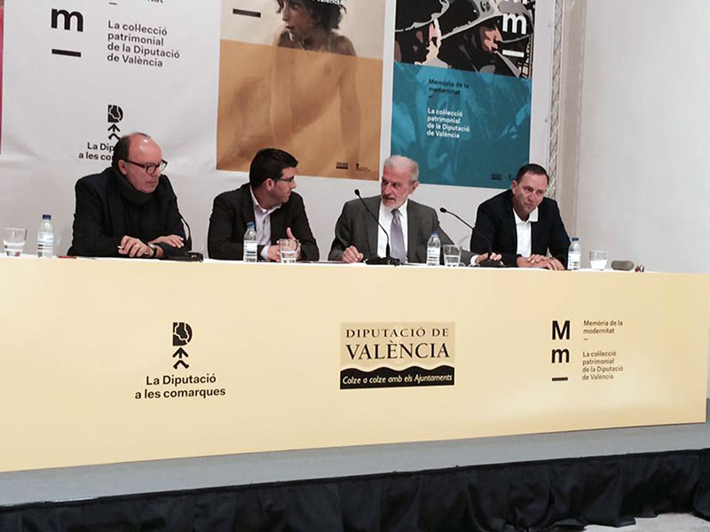 The exhibition 'Memory of Modernity' of the Valencian Provincial Council is curated by teaching staff of the Universitat.
