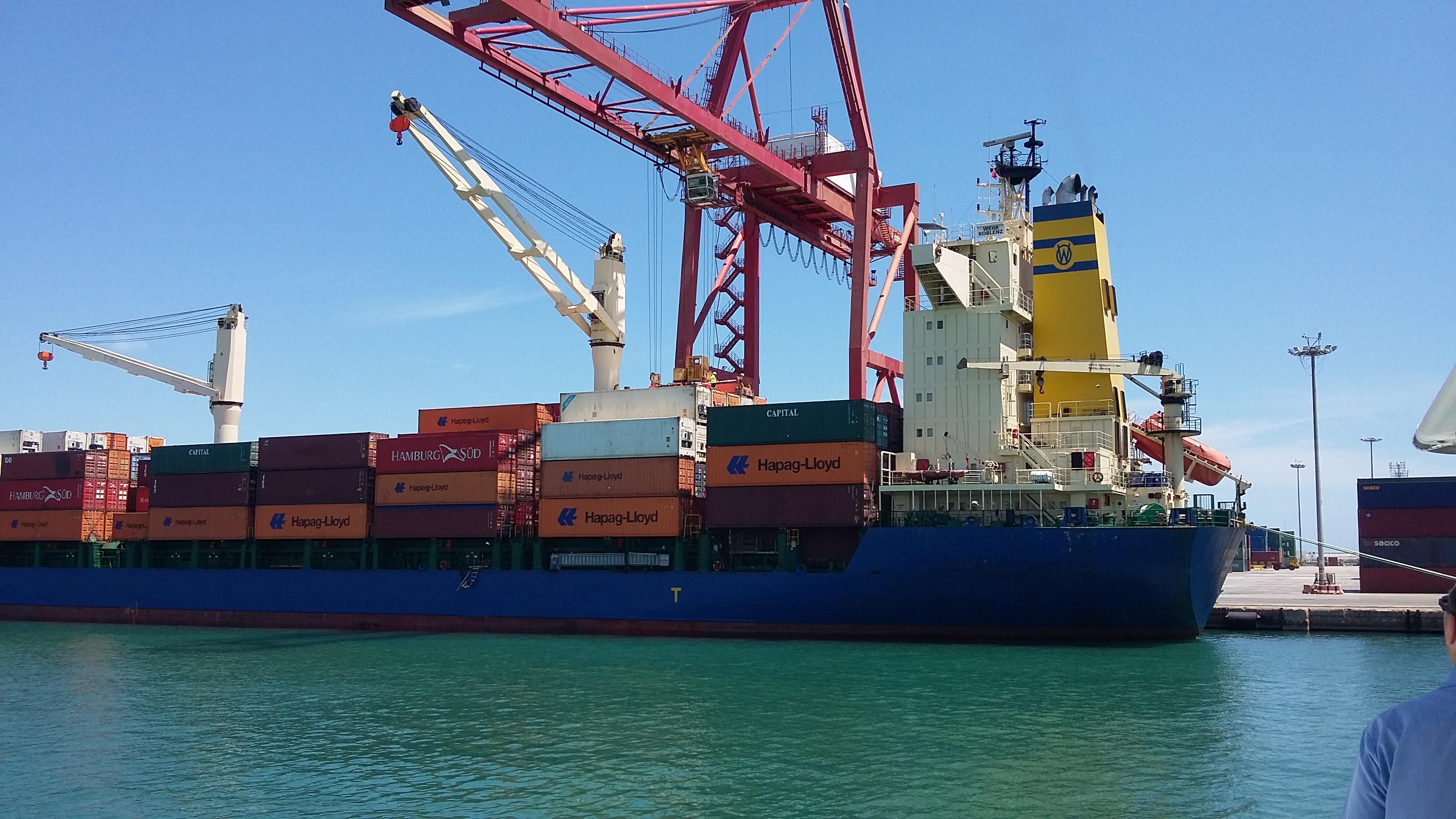 Visita a puerto de valencia - Laydown puerto valencia ...