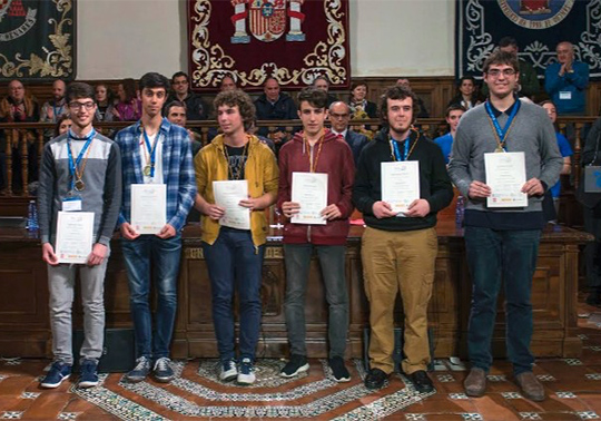 Spanish Mathematical Olympiad 2017