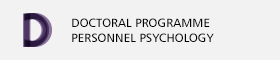 Doctoral programme of Psychology of Human Resources