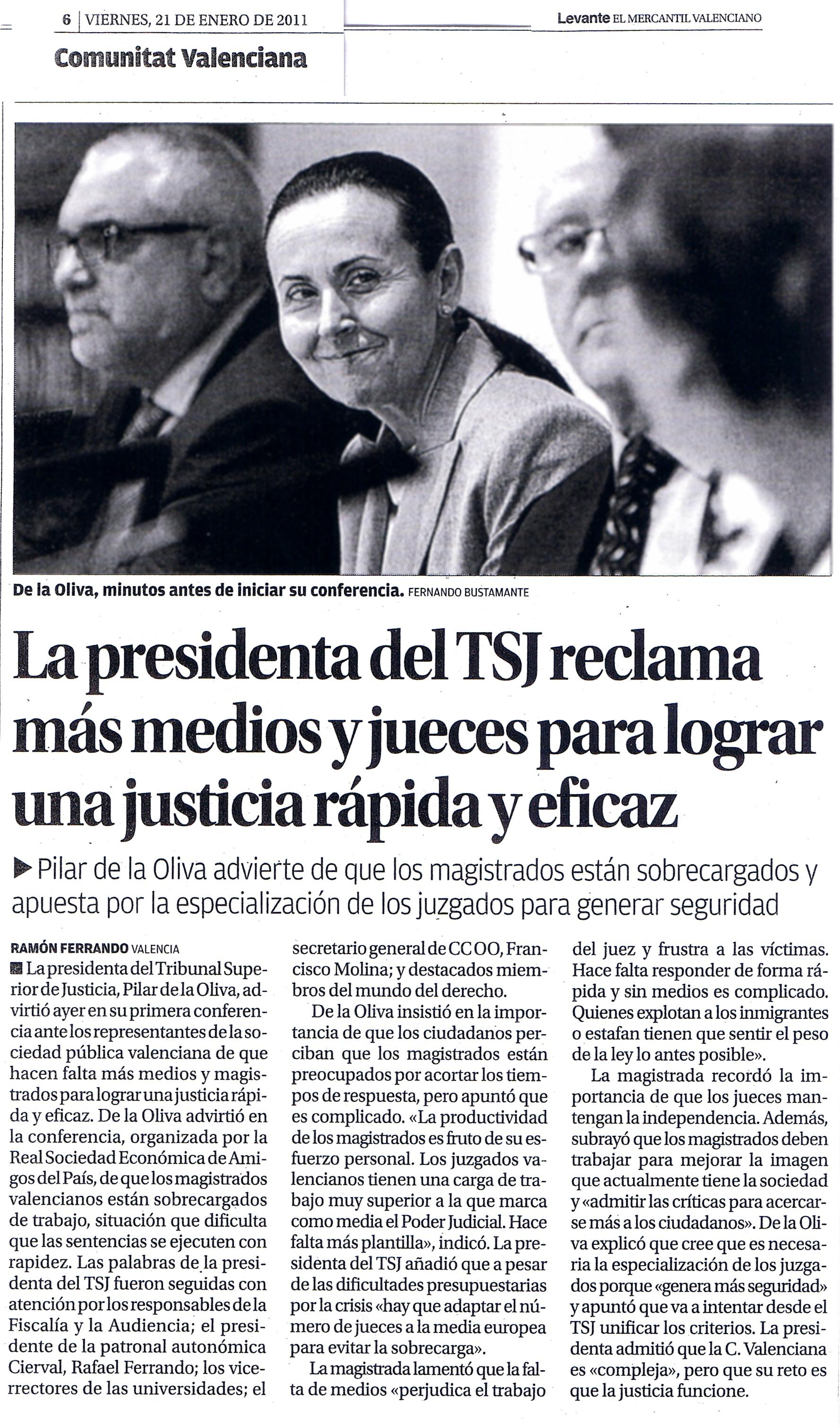 Noticias rseap - Periodico levante el mercantil valenciano ...