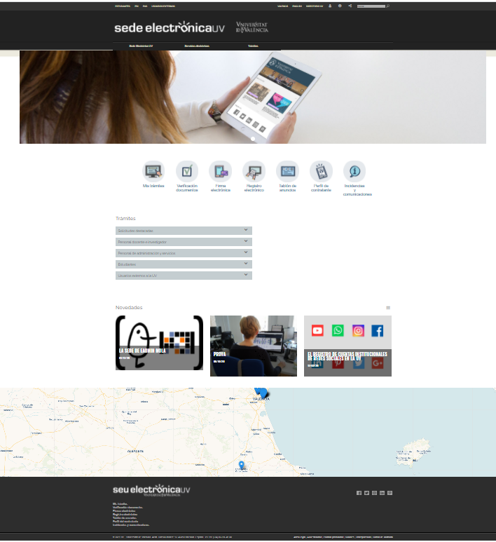 Online Office Home Page