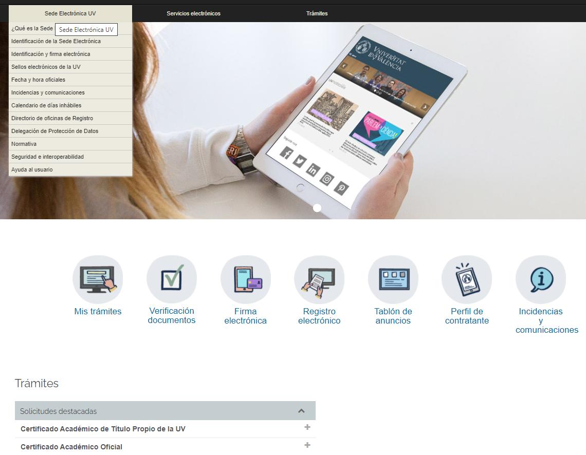 Online Office basic information area