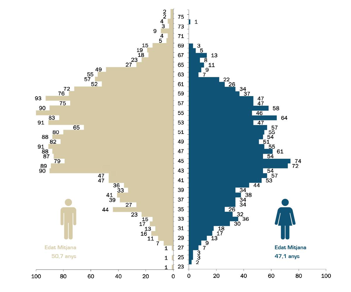 Edat mitjana de PDI