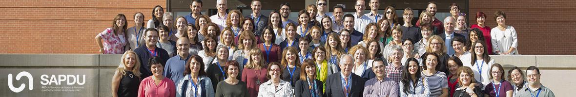 Enlace a la web de la Red de Servicios de Apoyo a Personas con Discapacidad en la Universidad (SAPDU)