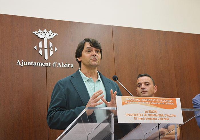 Emilio Barba, cap d'Iniciatives del Vicerectorat i coordinador de la UPA