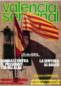 Portada Valencia Semanal