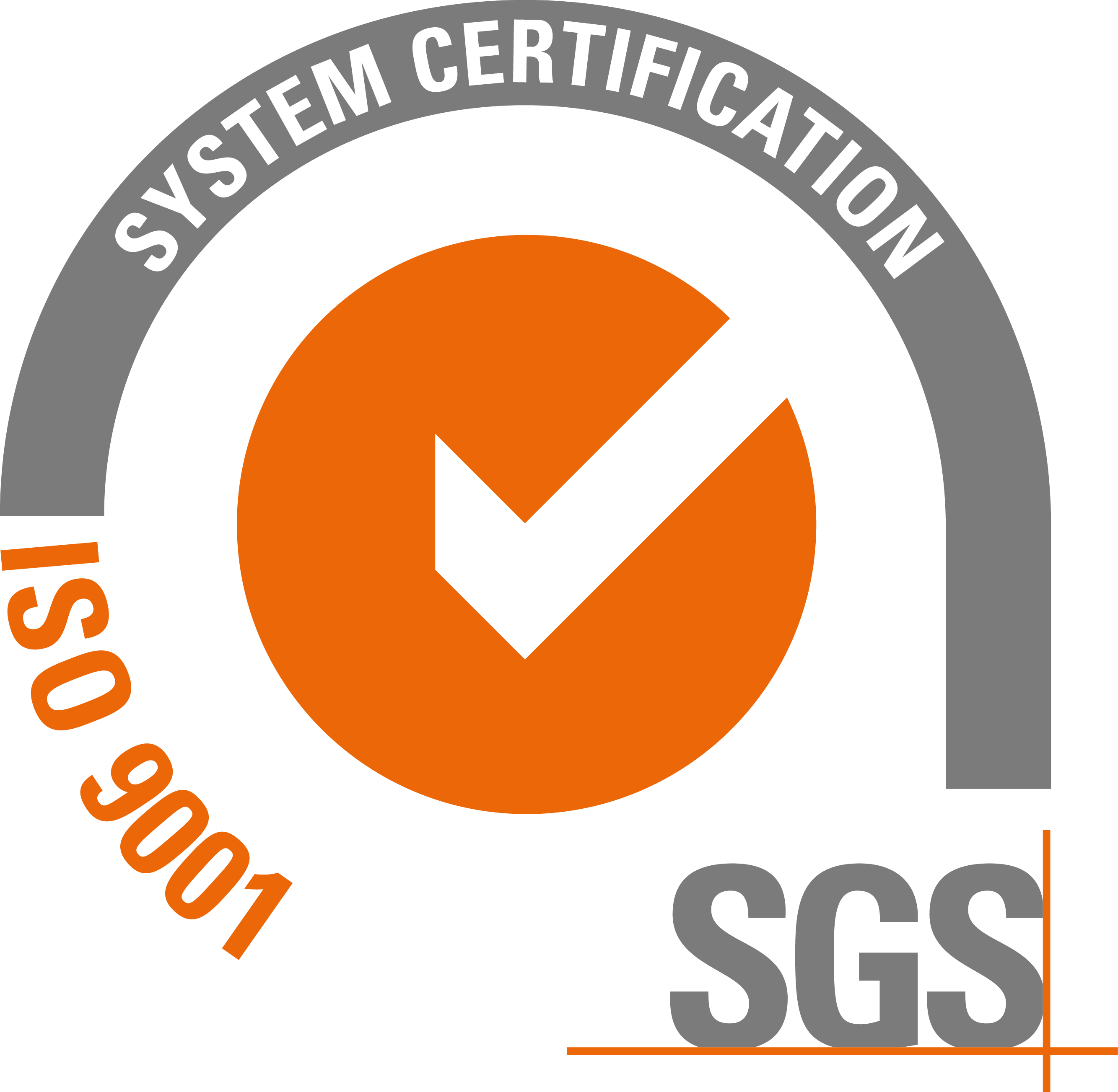 ISO 9001 - SGS System Certification