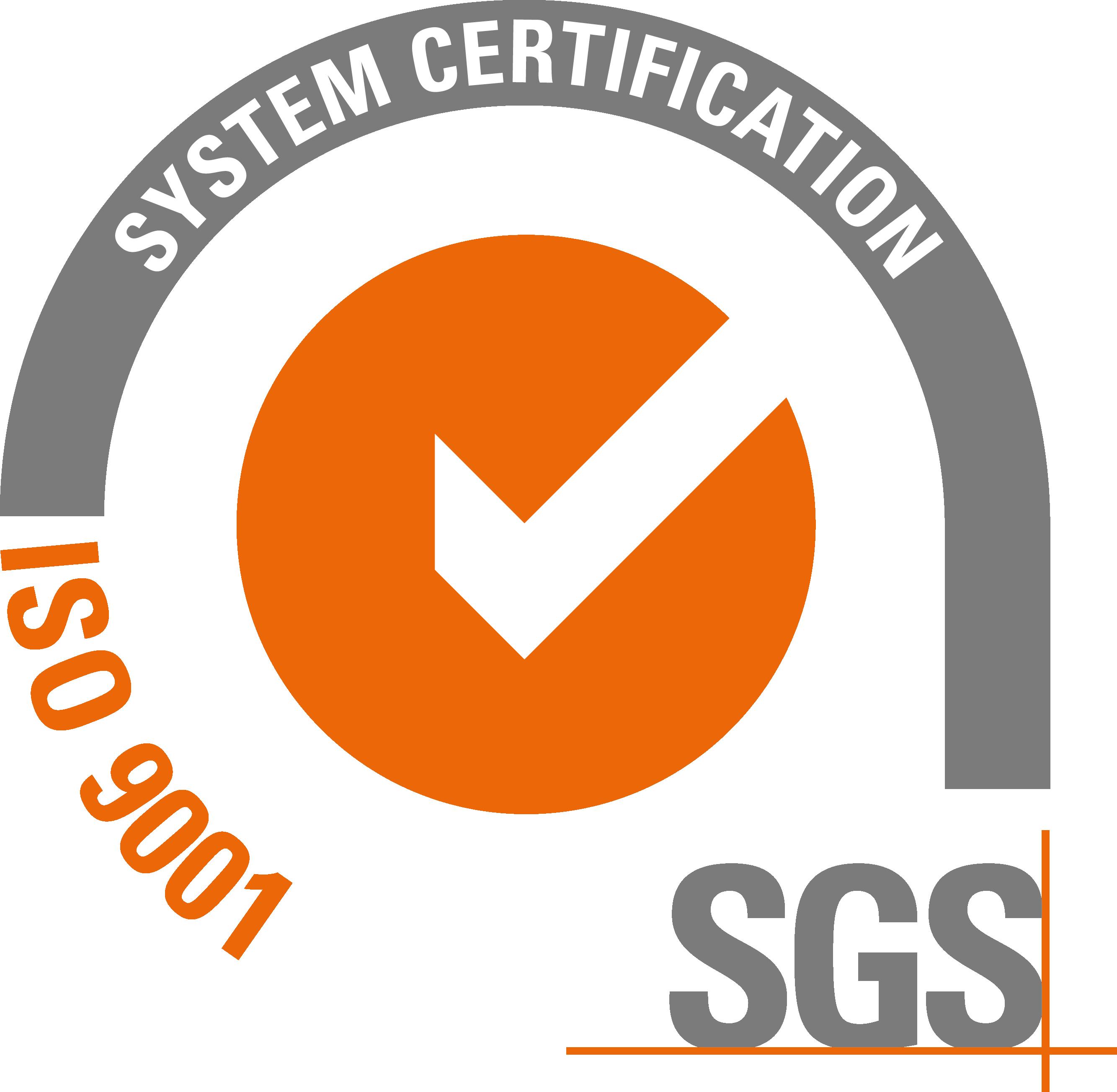Sello de calidad según ISO 9001:2000 acreditado por ENAC y vigente hasta la actualidad