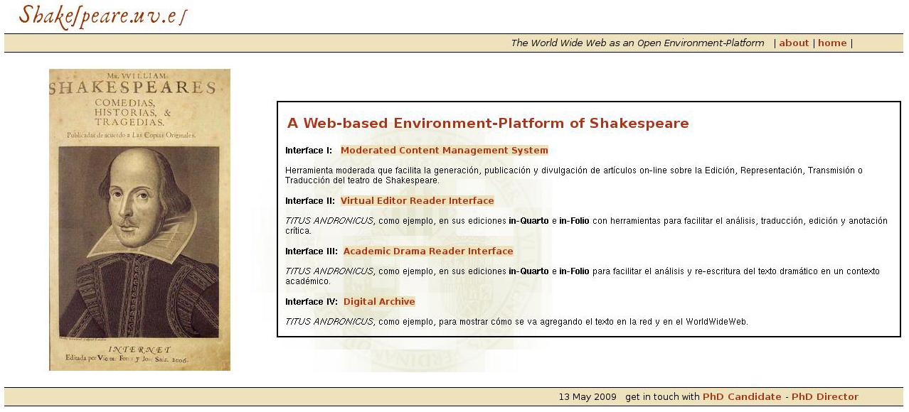William Shakespeare Thesis Statement
