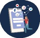 Donar d'alta xarxes socials