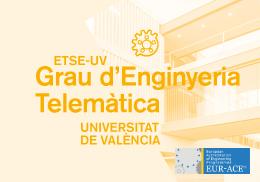 Grau en Enginyeria Telemàtica ETSE-UV