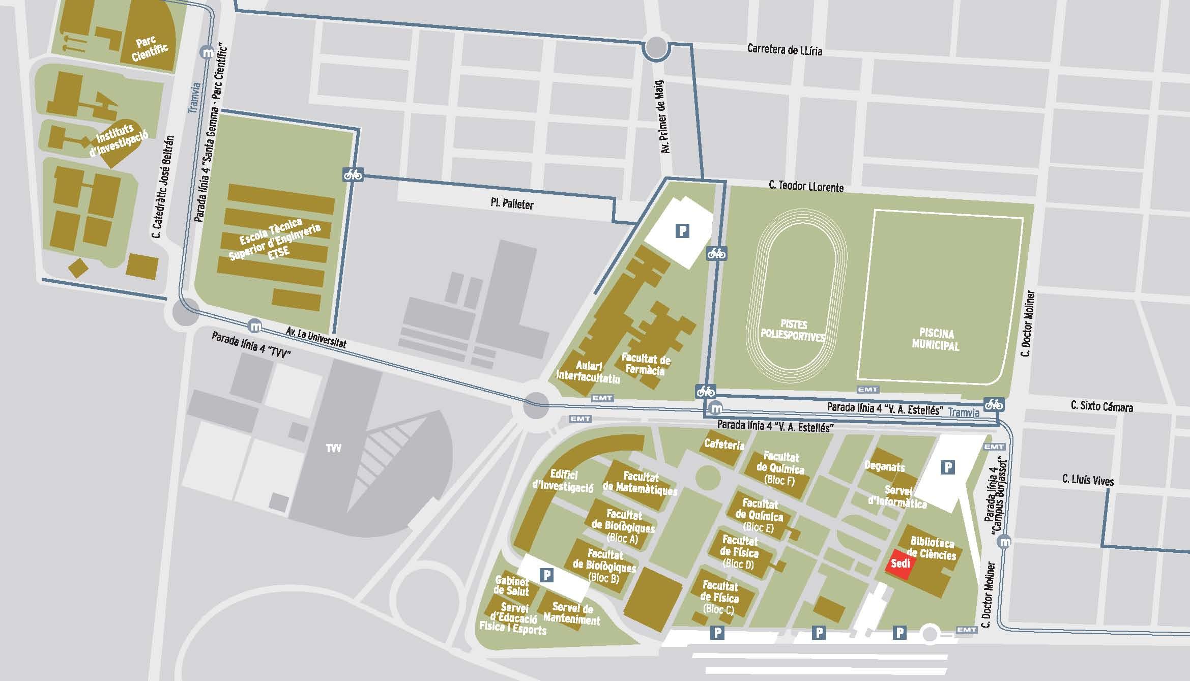 Toyota Of Plano >> Campus de Burjassot-Paterna