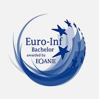Certificat EURO-INF, segell europeu de qualitat atorgat per EQANIE a una titulació de l'àrea informàtica.