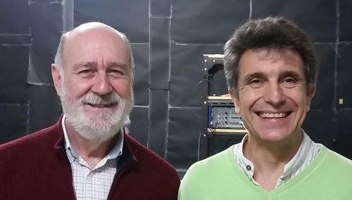 Miguel V. Andrés y José Luis Cruz